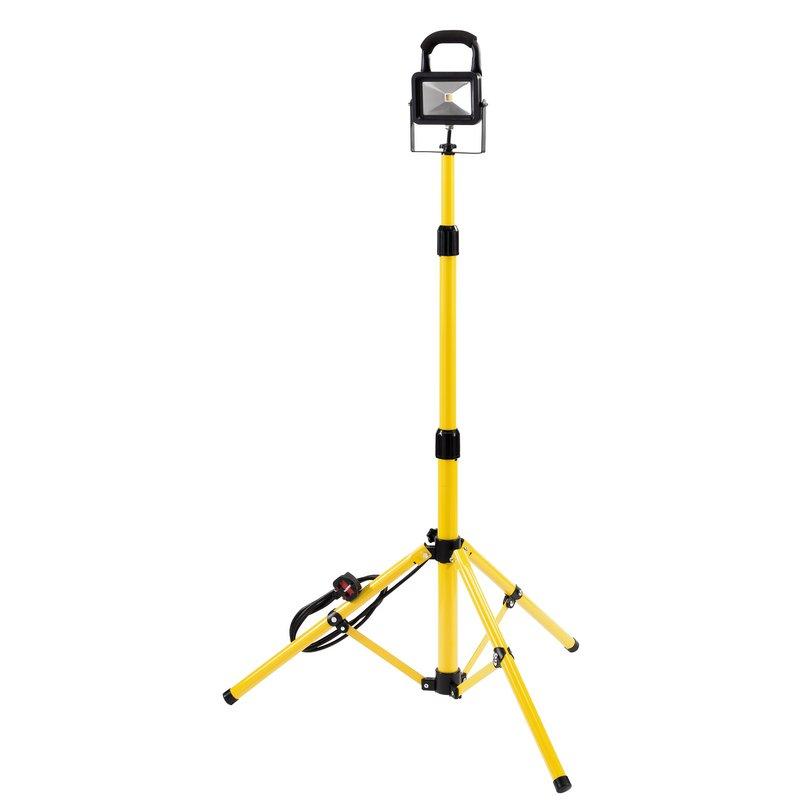 Draper 230V COB LED Worklight with Tripod, 10W, 700 Lumens (CL10T/B)