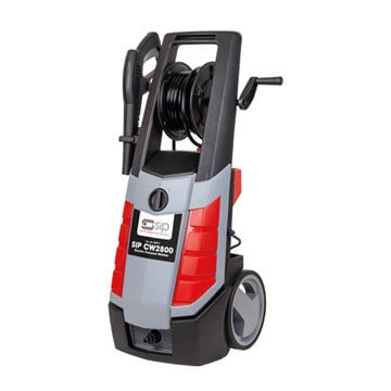 SIP CW2800 ELECTRIC PRESSURE WASHER (08974), Heavy-duty all-metal Axial pump for added durability.