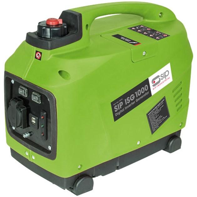 SIP Digital Silent Inverter Generator 25118, 60cc Euro V petrol engine   Economy control switch varies engine speed   toolforce.ie
