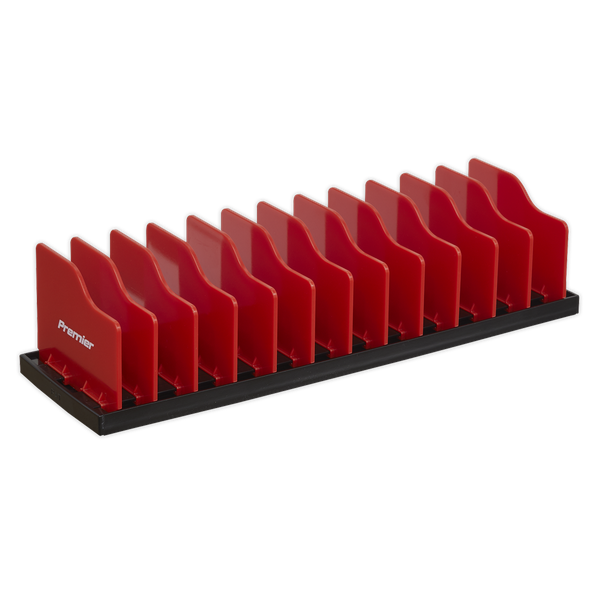 Sealey Adjustable Pliers Rack Tool Chest PR02  Â Manufactured from ABS plastic making it strong and robust   toolforce.ie