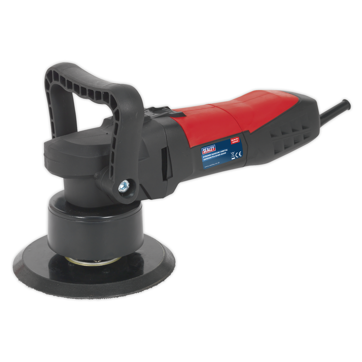 Sealey Random Orbital Dual Action Sander/Polisher | Dual action orbit of Ø8mm helps cover more surface during use. | toolforce.ie