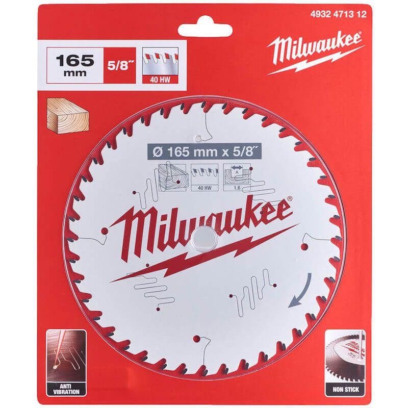 MILWAUKEE 165MM CIRCULAR SAW BLADE 4932471312