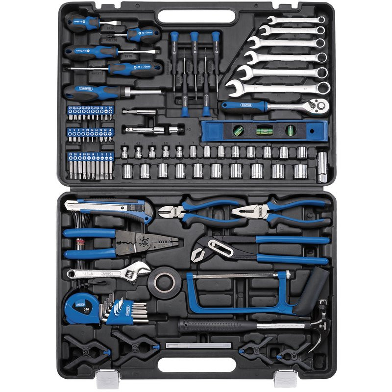 Draper Tool Kit, (138 Piece) (TK138)