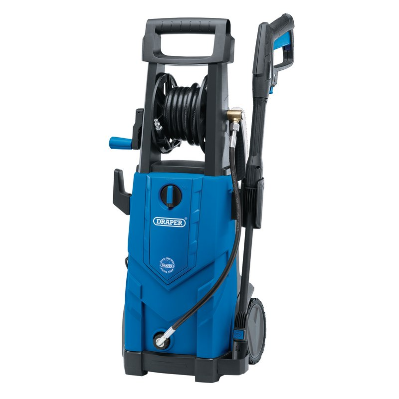Draper Pressure Washer, 2200W, 165bar (PW2200/110D)   Perfect for cleaning patios, cars, caravans or worksites.   toolforce.ie