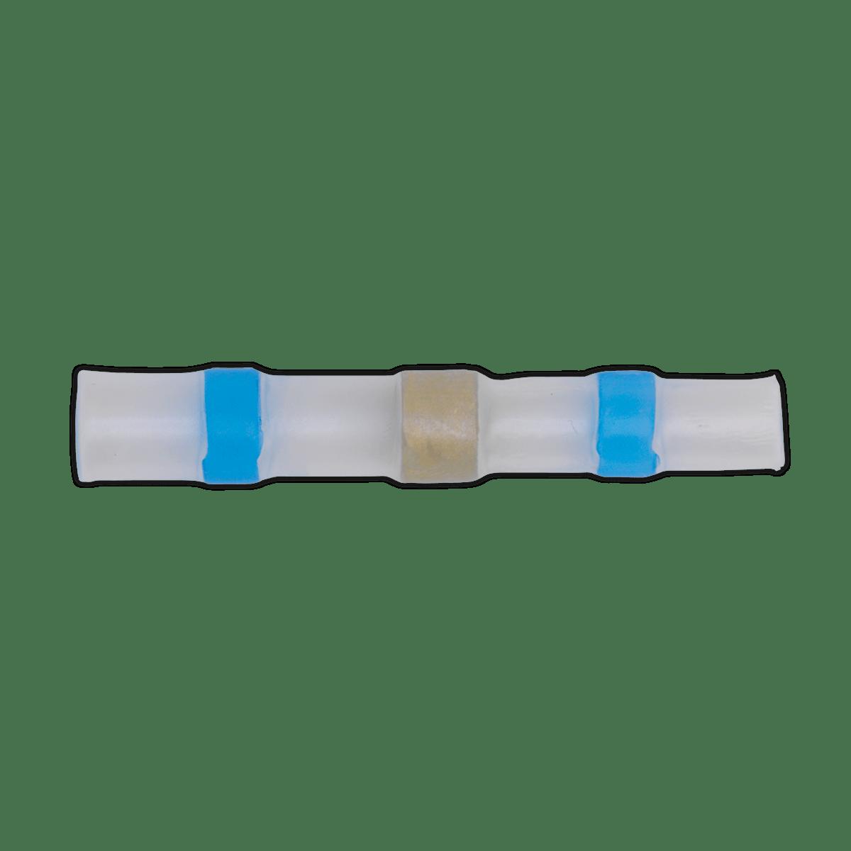 Sealey Heat Shrink Butt Connector Solder Terminal 16-14 AWG Blue Pa BTSSB25