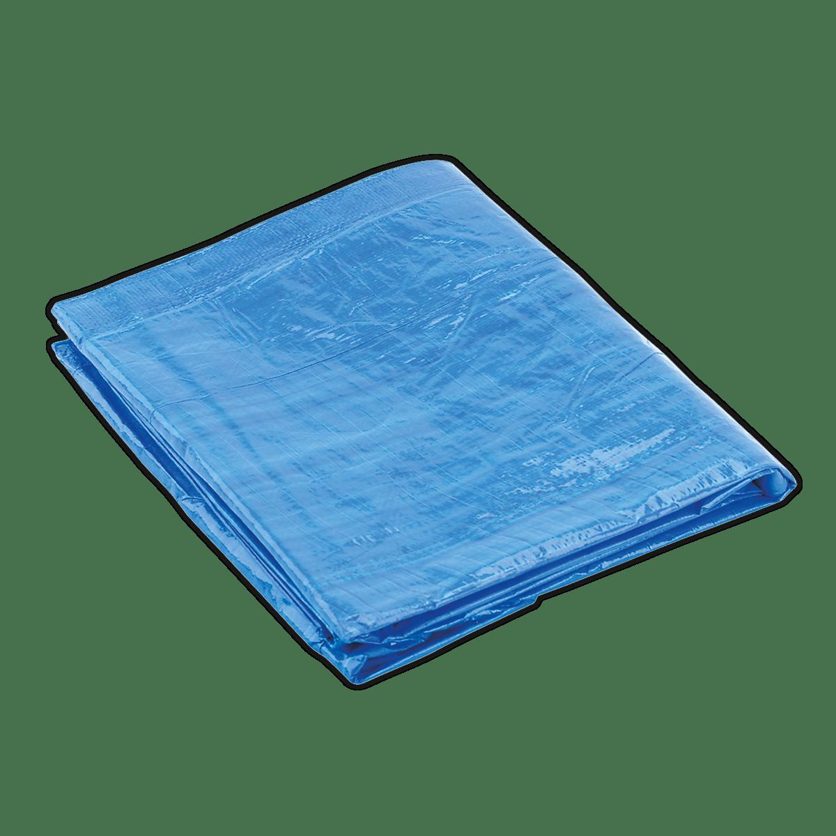 Sealey Tarpaulin 3.66 x 4.88m Blue TARP1216