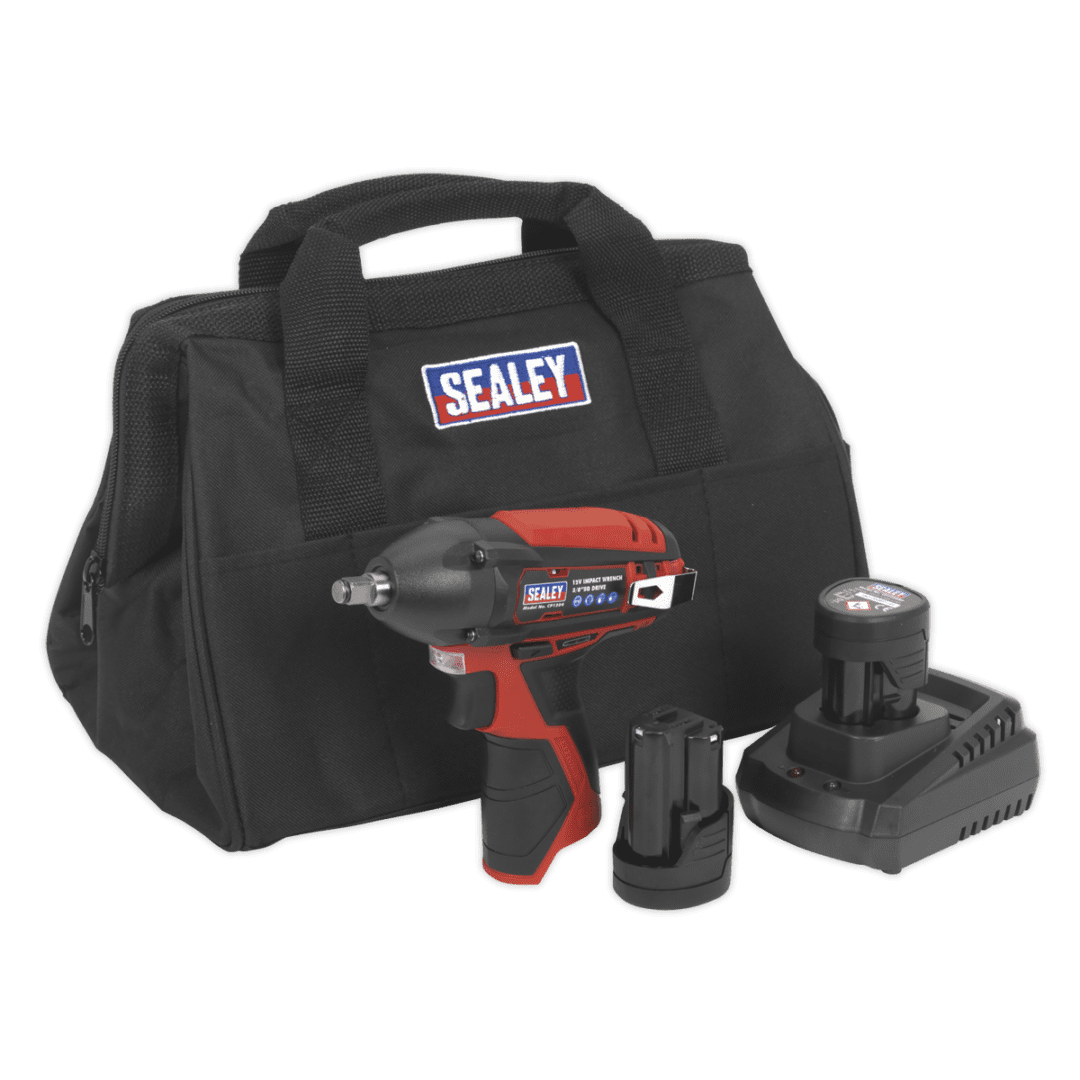 """SEALEY 12V 3/8"""" Dr IMPACT WRENCH 
