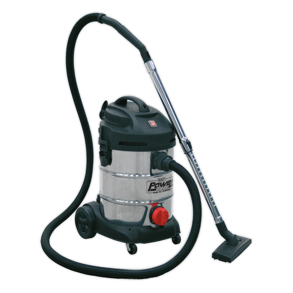 Sealey Vacuum Cleaner Industrial 30L 1400W/230V Stainless Drum PC300SD | High powered, lightweight industrial unit with blower facility. | toolforce.ie