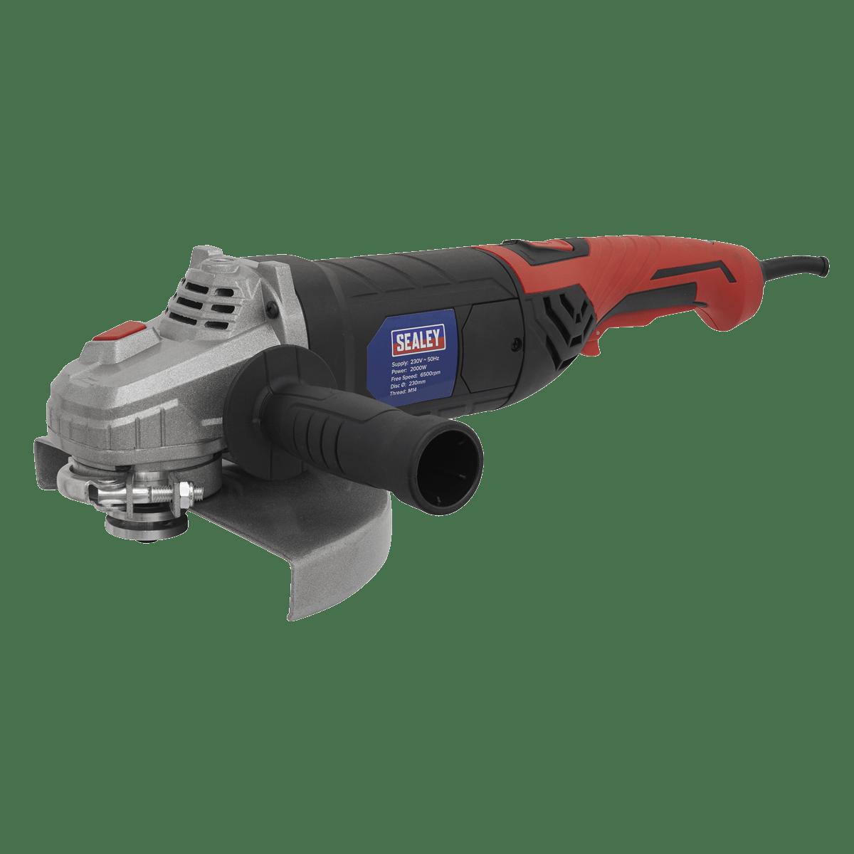 Sealey Angle Grinder Ø230mm 2000W/230V SAG230