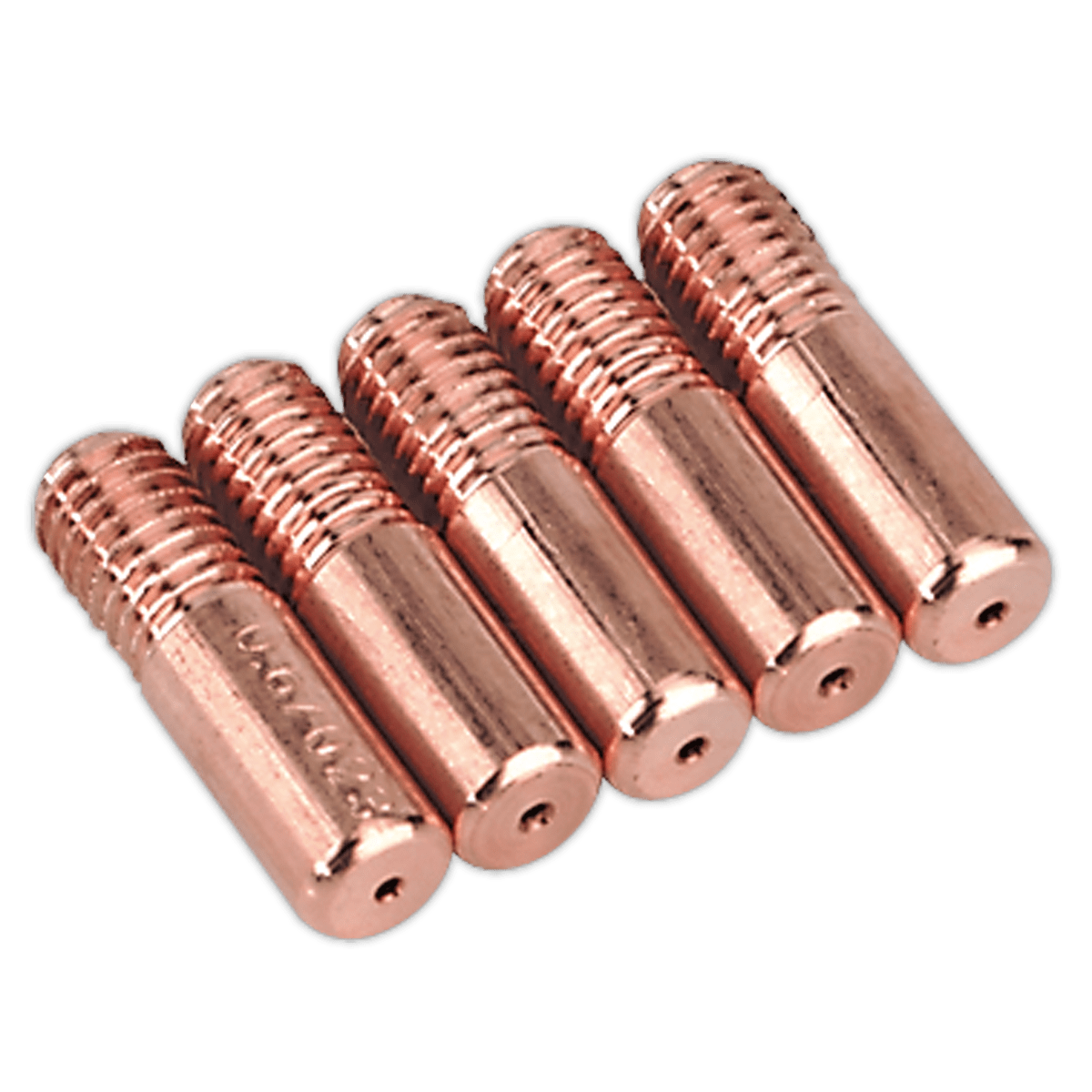 Sealey Contact Tip 0.8mm MB14 Pack of 5 MIG952   Pack of 0.8mm contact tips suitable for our range of Mightymig® welders.   toolforce.ie