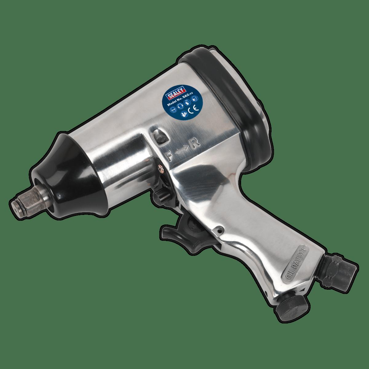 """Sealey Air Impact Wrench 1/2""""Sq Drive SA2"""