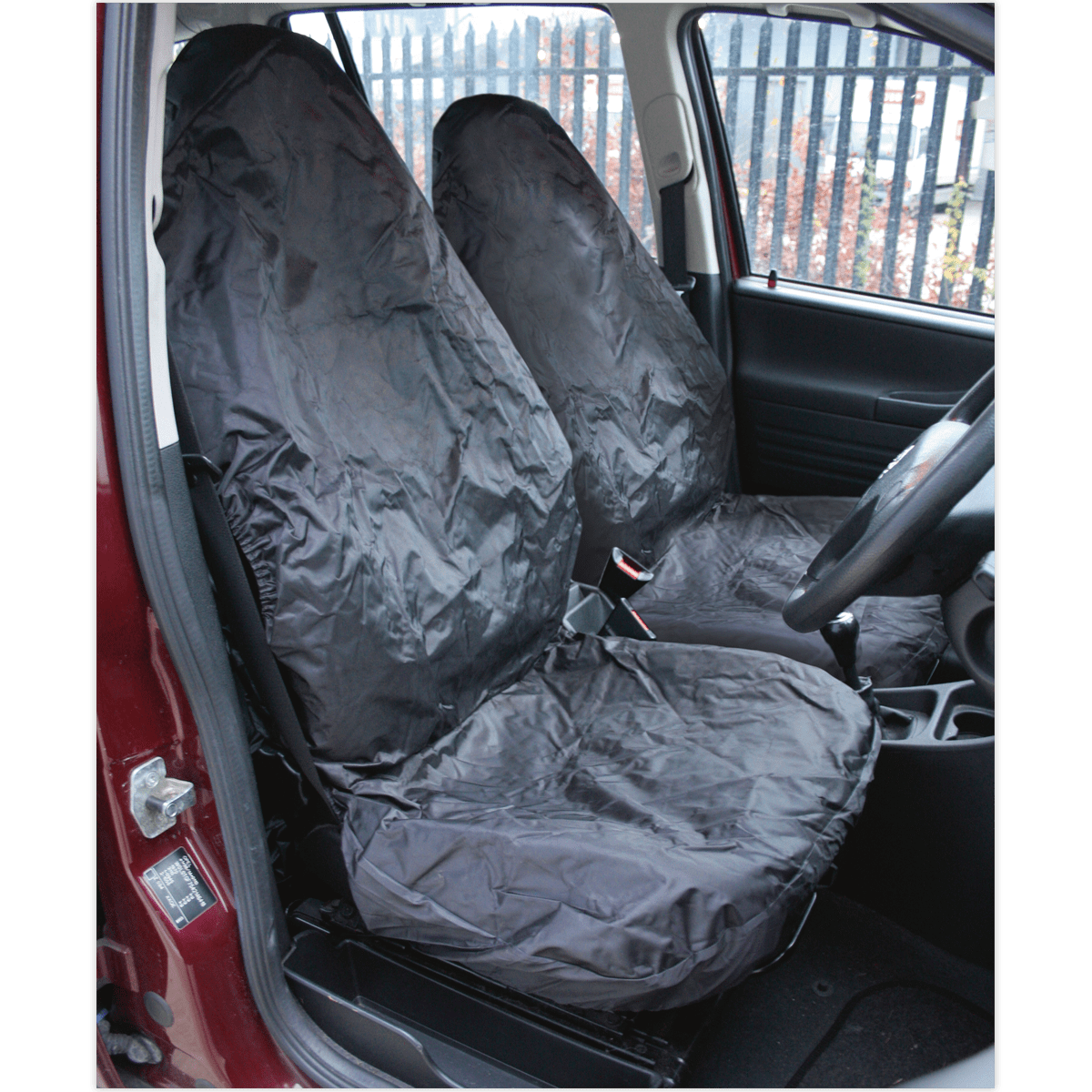 Sealey Front Seat Protector Set 2pc Heavy-Duty CSC6