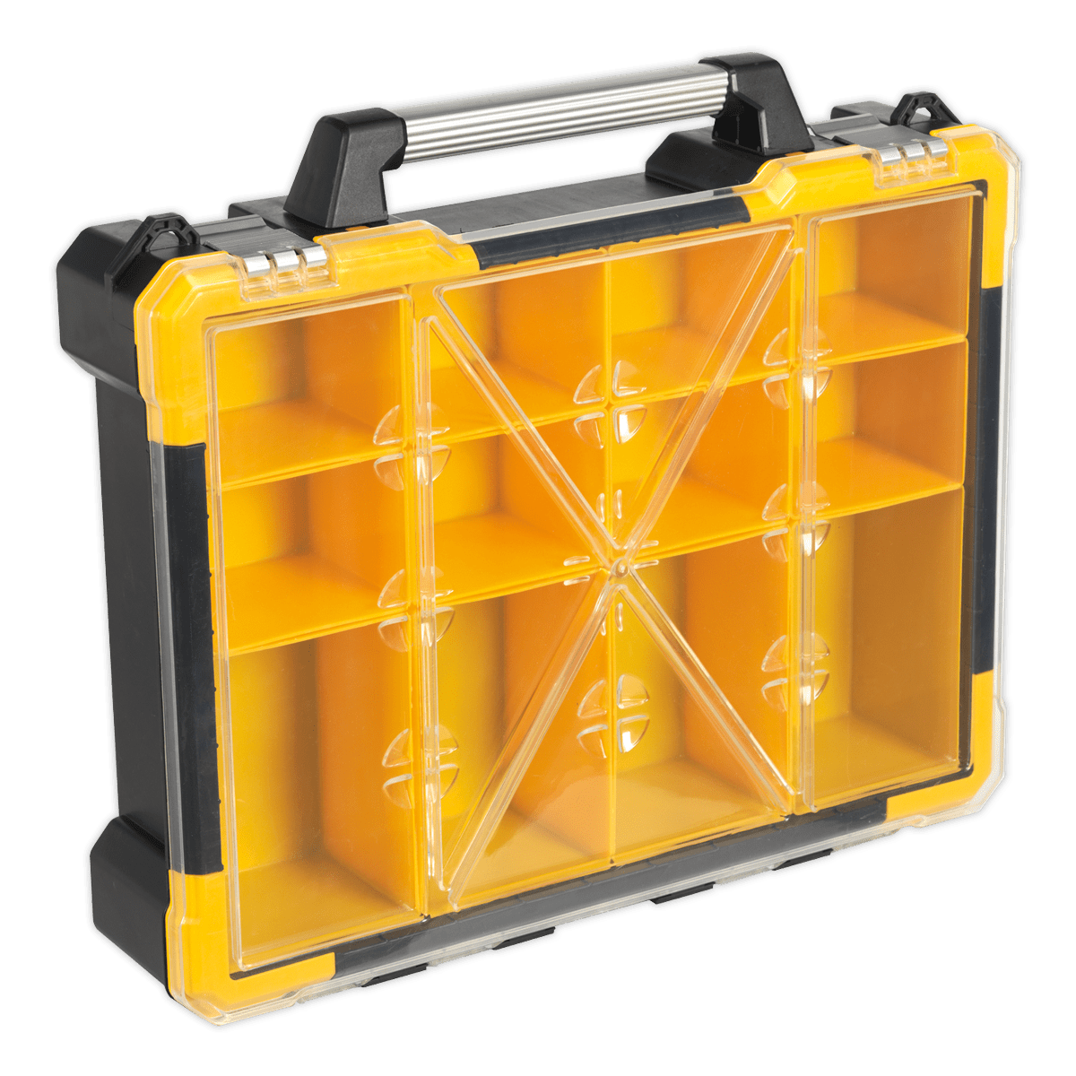 Sealey Parts Storage Case with 12 Removable Compartments APAS12R