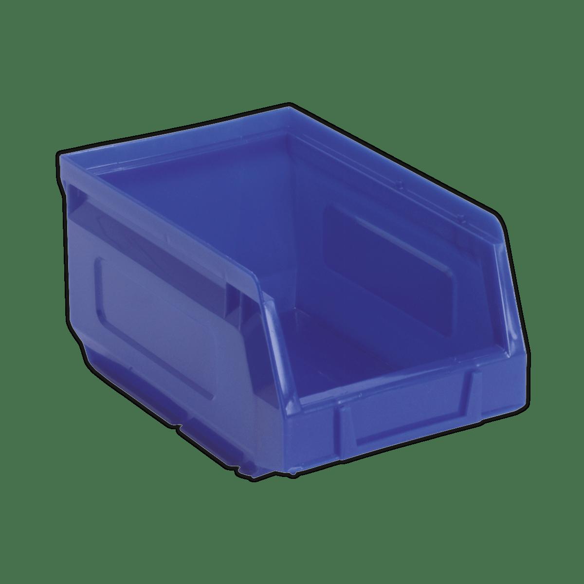 Sealey Plastic Storage Bin 105 x 165 x 85mm - Blue Pack of 48 TPS2