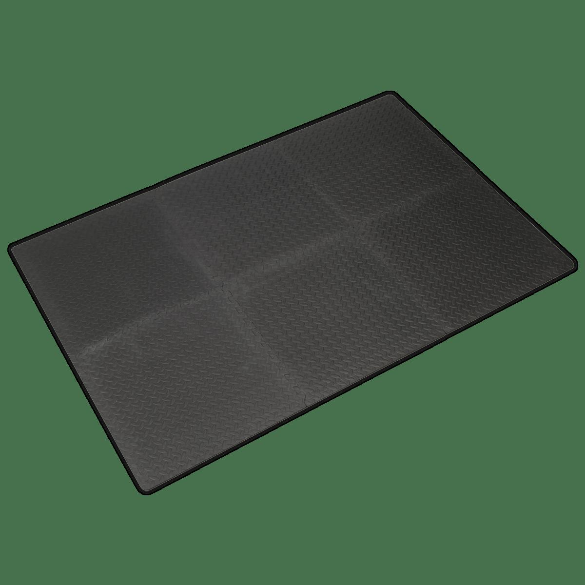 Sealey Interlocking EVA Foam Workshop Mat Set 1200 x 1800mm MIC1218 | Hard-wearing anti-slip EVA foam matting suitable for use in the workshop and machine room. | toolforce.ie