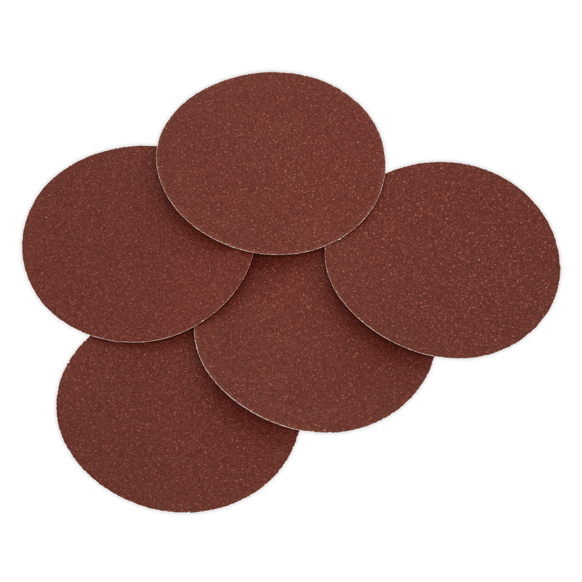 Sealey Sanding Disc Ø125mm 80Grit Adhesive Backed Pack of 5 SSD01   Suitable for Sealey disc sanders and other leading brands.   toolforce.ie