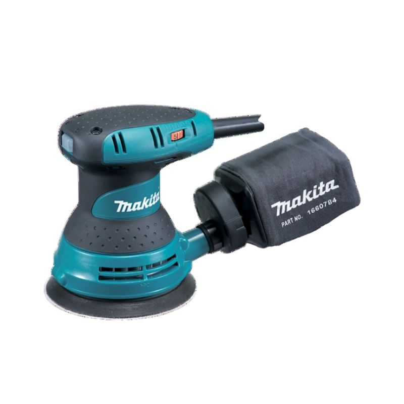 "Makita 5"" V/speed Random Orbit Sander 240v MAKBO5031 | High power motor for heavy duty applications. | toolforce.ie"