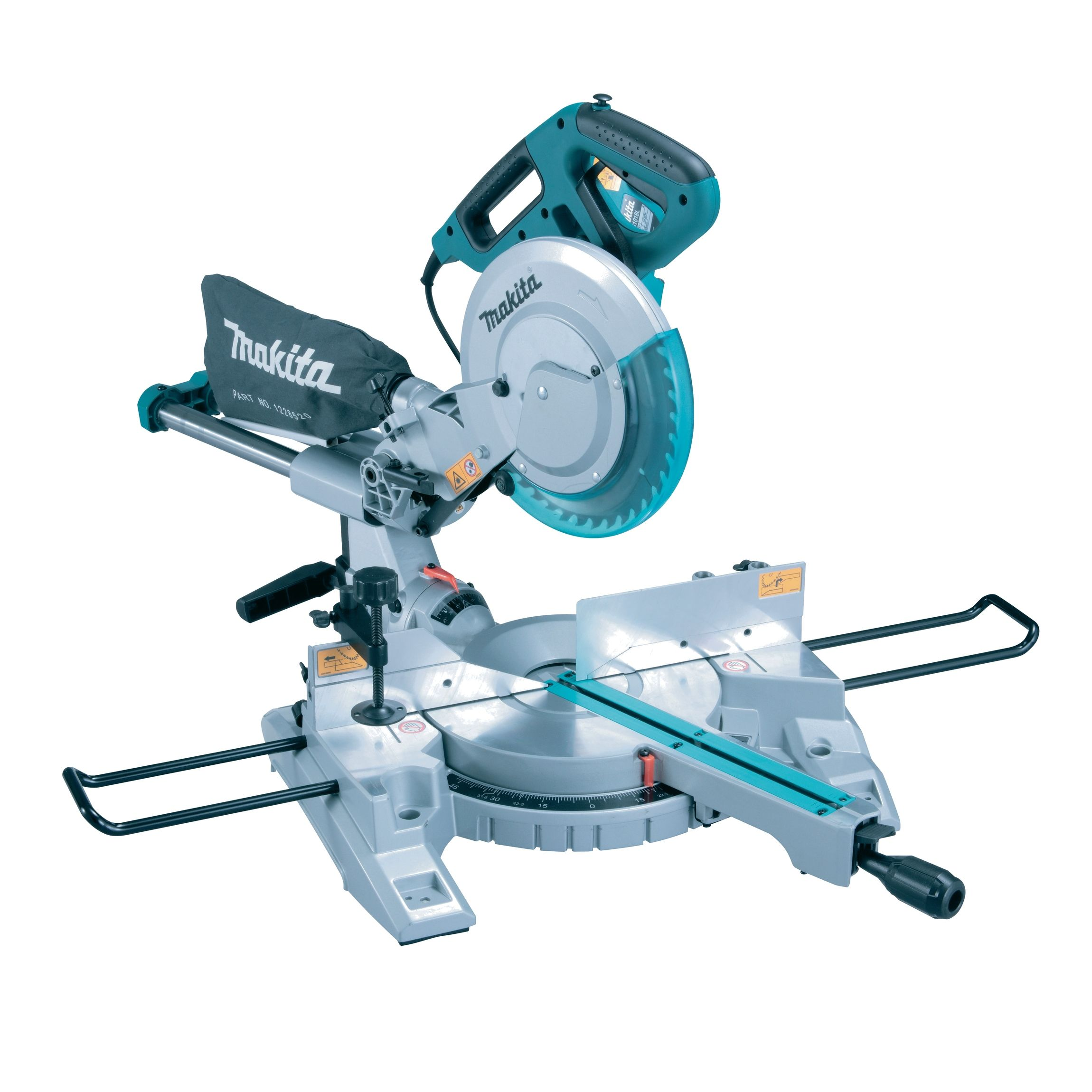 """Makita 10"""" Sliding Mitre Saw 110v MAKLS1018LL   High accuracy cutting with the Makita LS1018L is easily achieved using the Laser Marker.   toolforce.ie"""