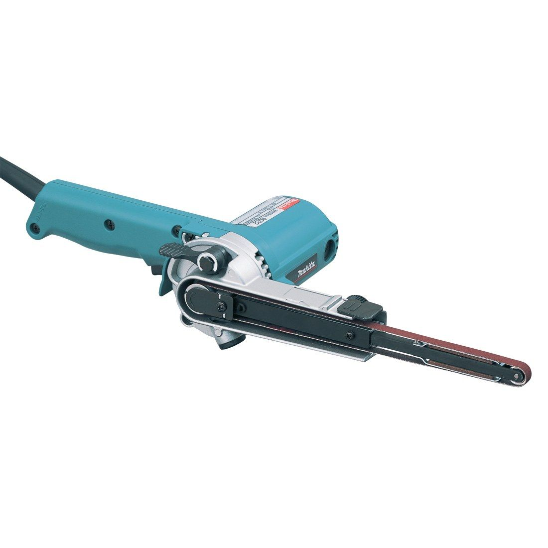 Makita 9032 Filing Belt Sander 240v MAK9032 | The Makita 9032 9mm power-file sander enables you to file and sand in awkward and confined areas | toolforce.ie
