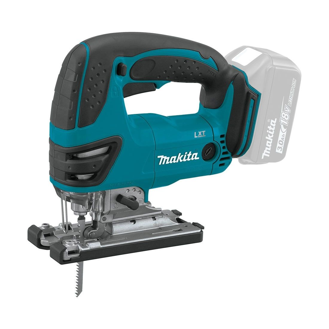 Makita 18v Jigsaw (Body Only) MAKDJV180Z   The Makita DJV180Z is a compact and lightweight jigsaw powered by Makita lithium-ion batteries.   toolforce.ie