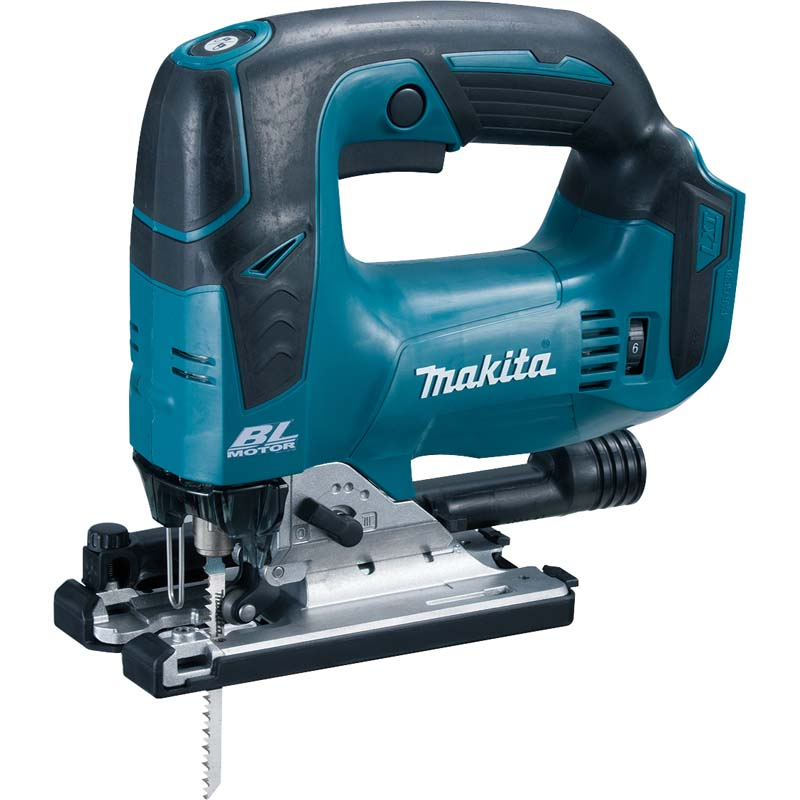 Makita 18v Brushless Jigsaw (Body Only) MAKDJV182Z   a bow, top handle cordless jigsaw with brushless motor that produces a high level of torque per weight.   toolforce.ie