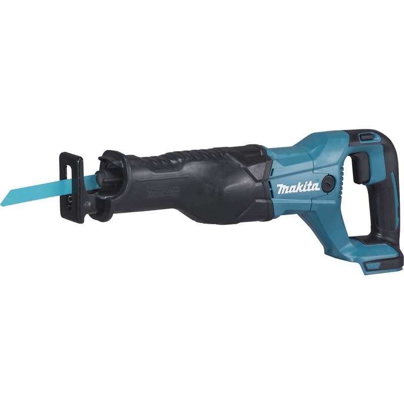 Makita 18v Reciprocating Saw (Body Only) MAKDJR186Z | The DJR186 is a cordless reciprocating saw powered by a single 18V Li-ion battery | toolforce.ie