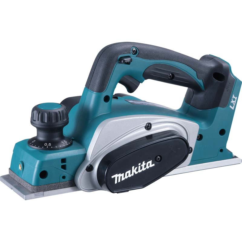 Makita 18v Planer (Body Only) MAKDKP180Z   The Makita DKP180Z features enhanced chip ejection and a foot for protecting the workpiece and blades.   toolforce.ie