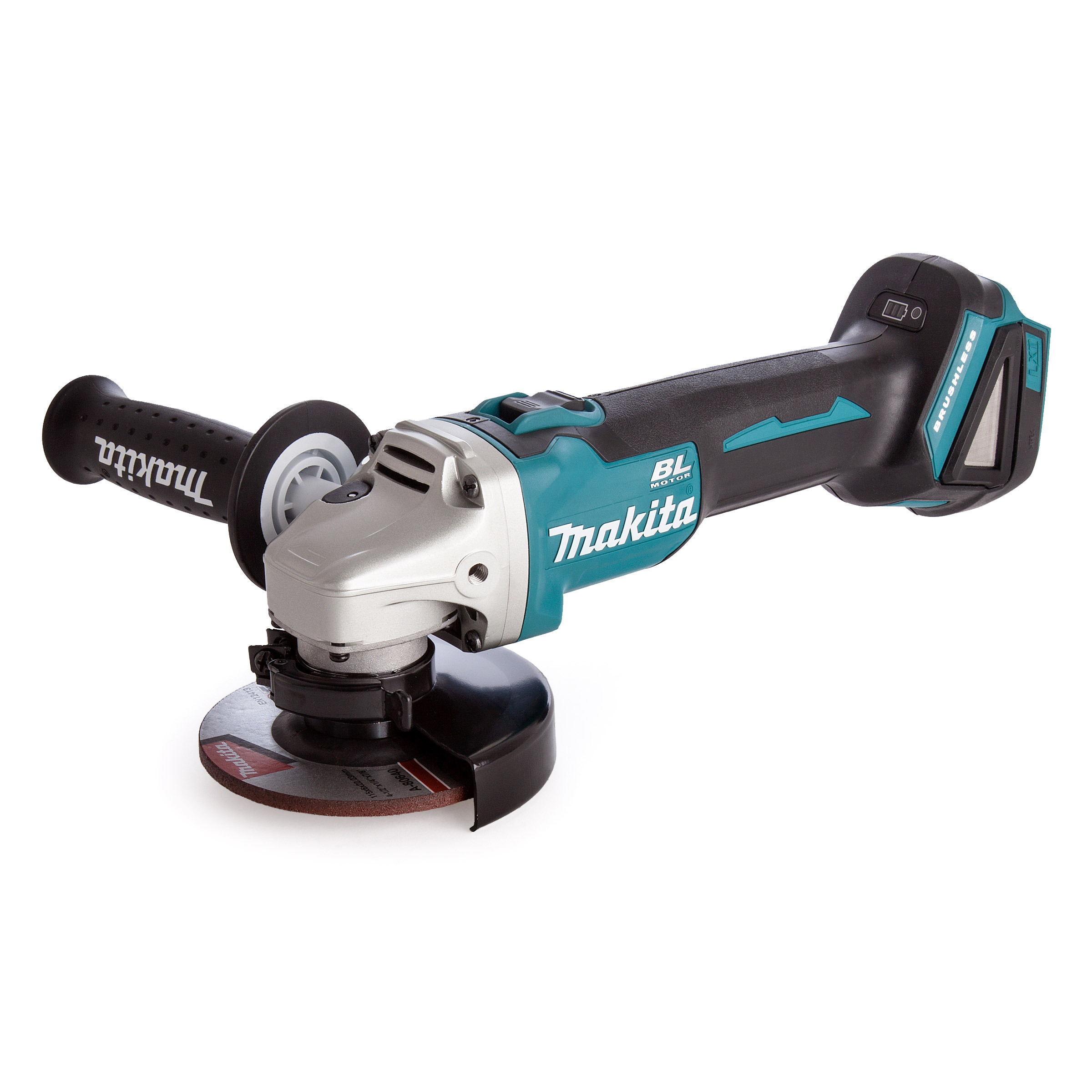 Makita 18v Grinder Brushless (body only) C/w Case MAKDGA456ZJ | It is powered by an 18V Li-ion battery which gives it as much power as a corded Grinder, and has been developed based on the DGA454 series. | toolforce.ie