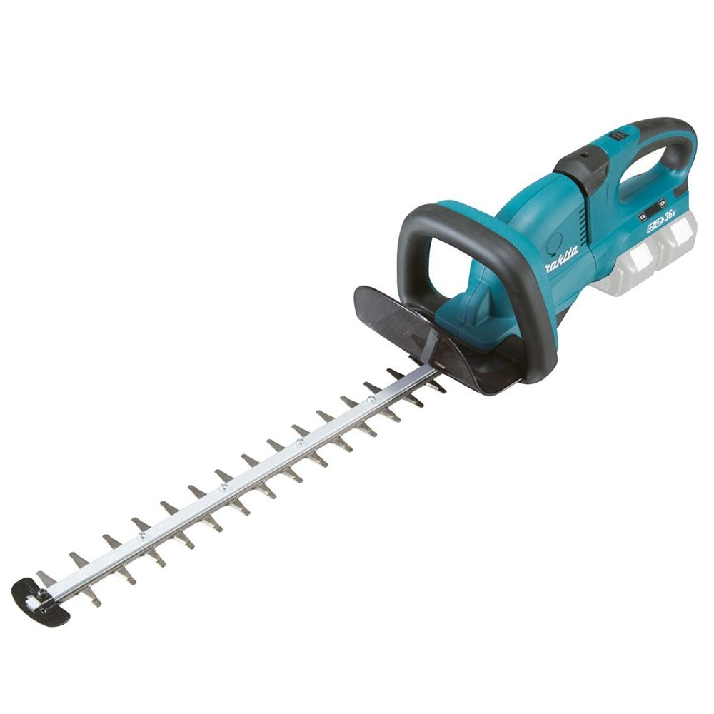 Makita 36v Hedgetrimmer 65cm (Bare Unit) MAKDUH651Z   It has a 5 position rotating rear handle that locks at 45° and 90°, it also makes vertical and angled trimming easier and faster.   toolforce.ie