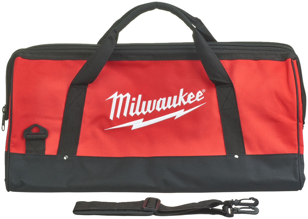 Milwaukee M18 Soft Contractor Bag 4931411254, Heavy duty canvas tool bag for all your Milwaukee tools | Toolforce