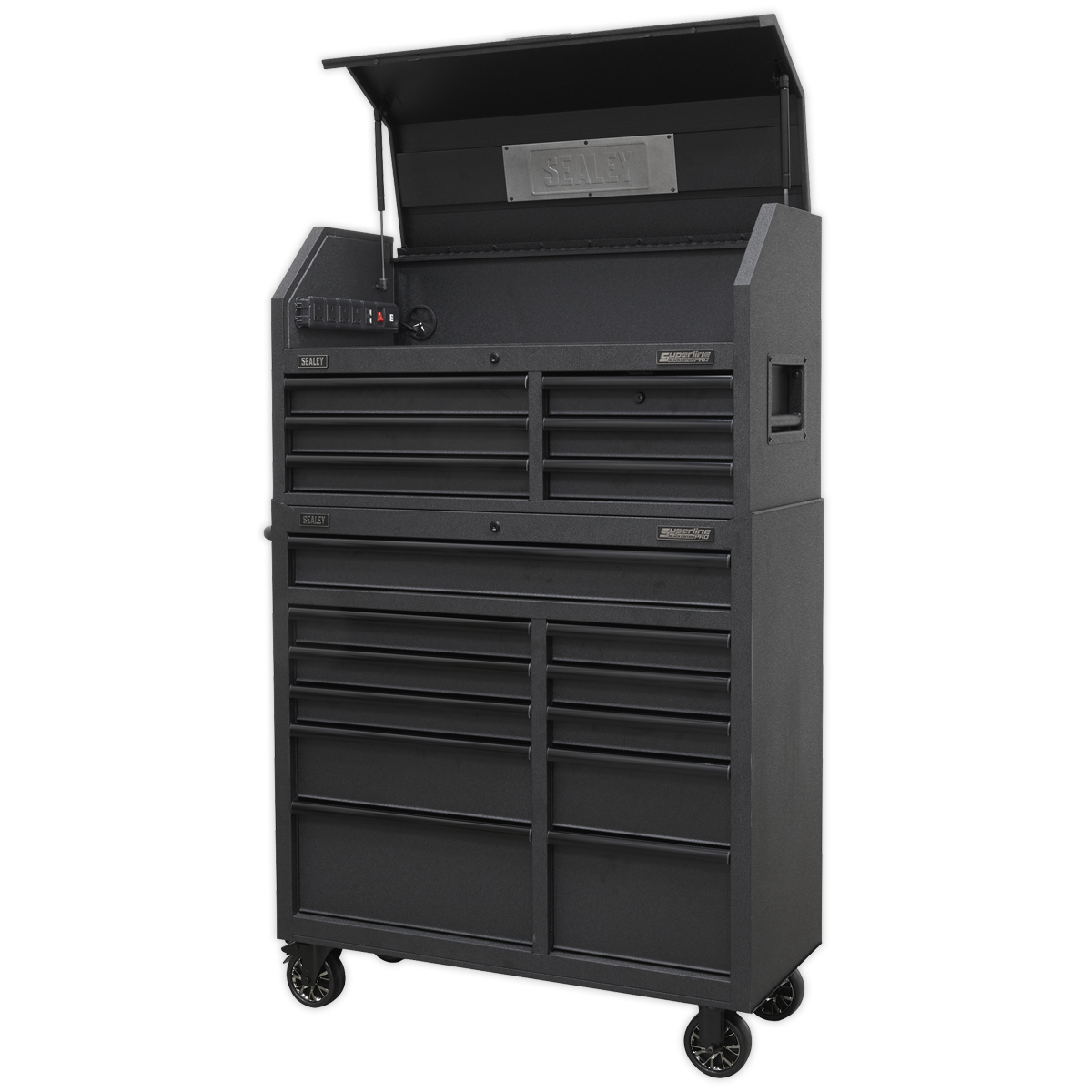 Sealey Tool Chest 17 Drawer Combination Soft Close Drawers with Power Bar AP41BESTACK |  This item is heavy. Extra assistance must be provided at the delivery point to help its safe delivery. | toolforce.ie