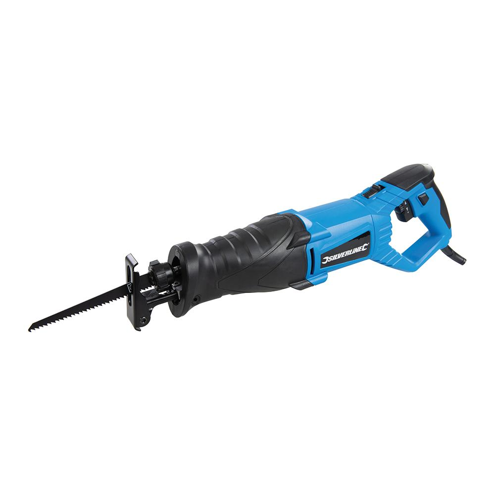 Silverline 800W Reciprocating Saw 180mm 937675, Includes wood-cutting blade | Toolforce