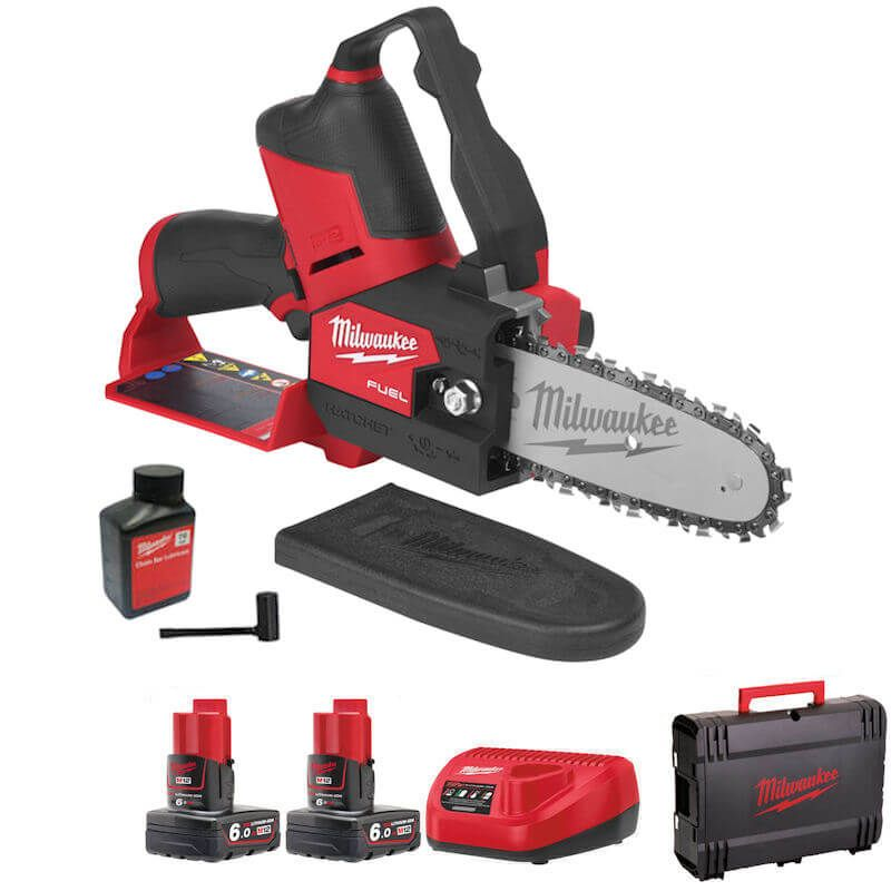 MILWAUKEE M12  FUEL HATCHET PRUNING CHAINSAW M12FHS-601 with battery