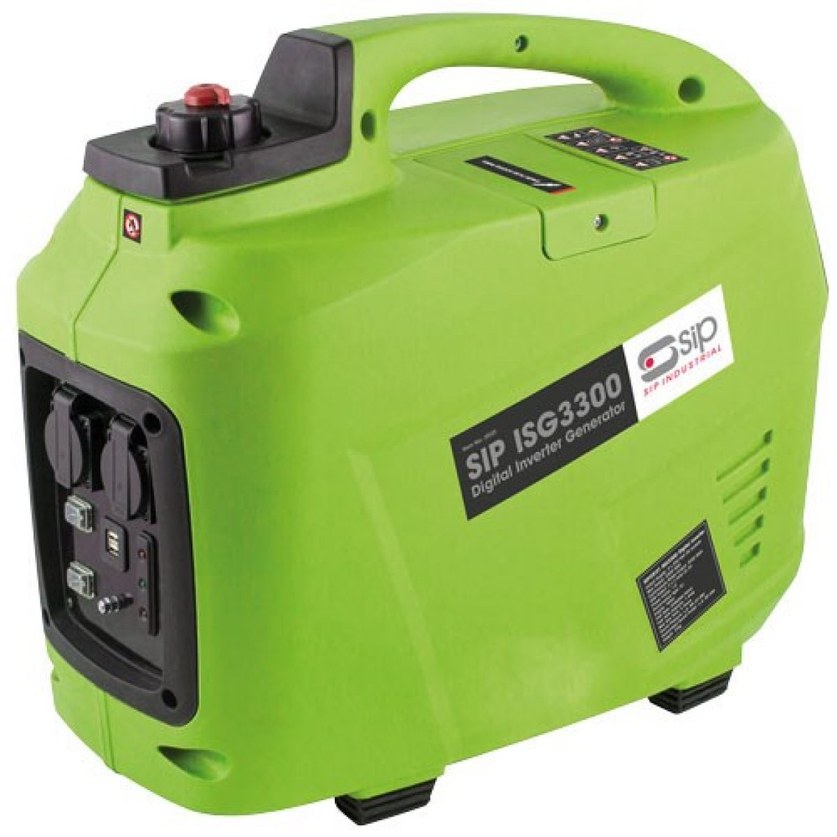 SIP ISG3300 Digital Inverter Generator 25121   7ltr tank with 5hrs approx. maximum runtime   toolforce.ie