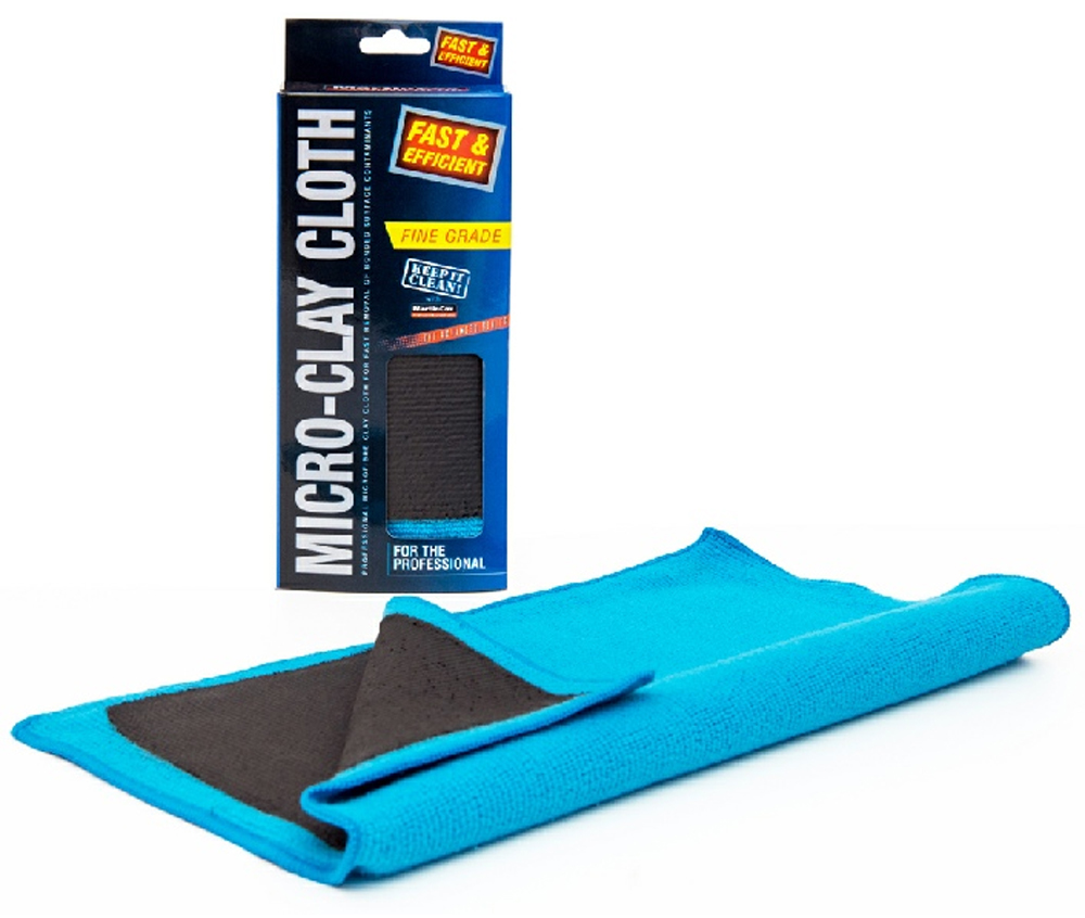 Martin Cox Micro Clay Cloth Fine Grade MOG142, Removes bodywork contaminants and light overspray | Toolforce.ie