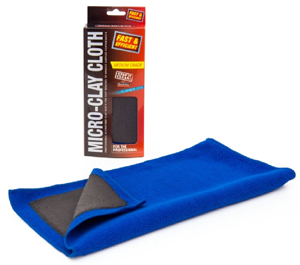 ProfessionalMicro Clay Cloth Medium Grade MOGG124, Removes bodywork contaminants and overspray | Toolforce.ie