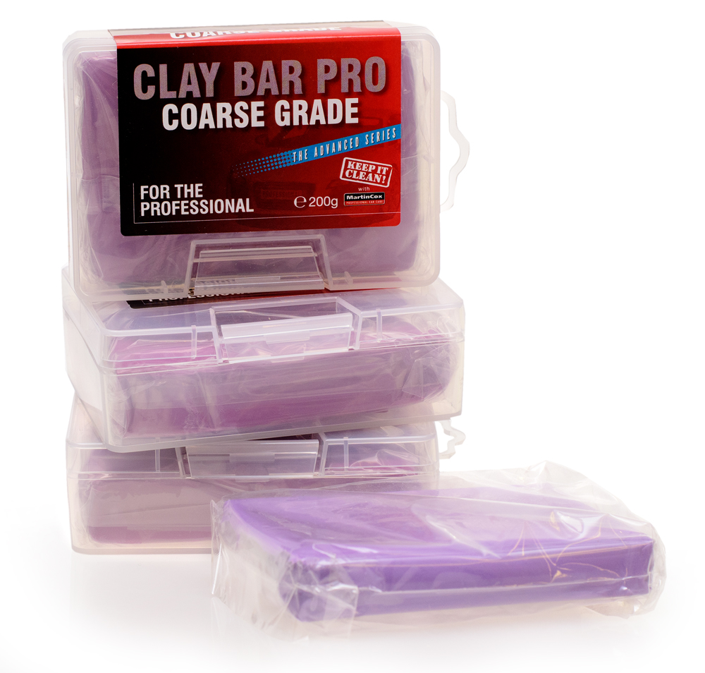 Professional Clay Bar Pro Course Grade MOGG52, For removal of bonded surface contaminants | Toolforce.ie