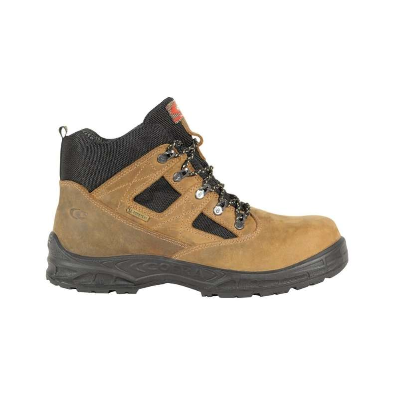 Cofra Toronto Brown Work Boots S3 WR SRC   Highly durable work boots with specialised polyurethane sole to provide comfort, grip and protection.   toolforce.ie