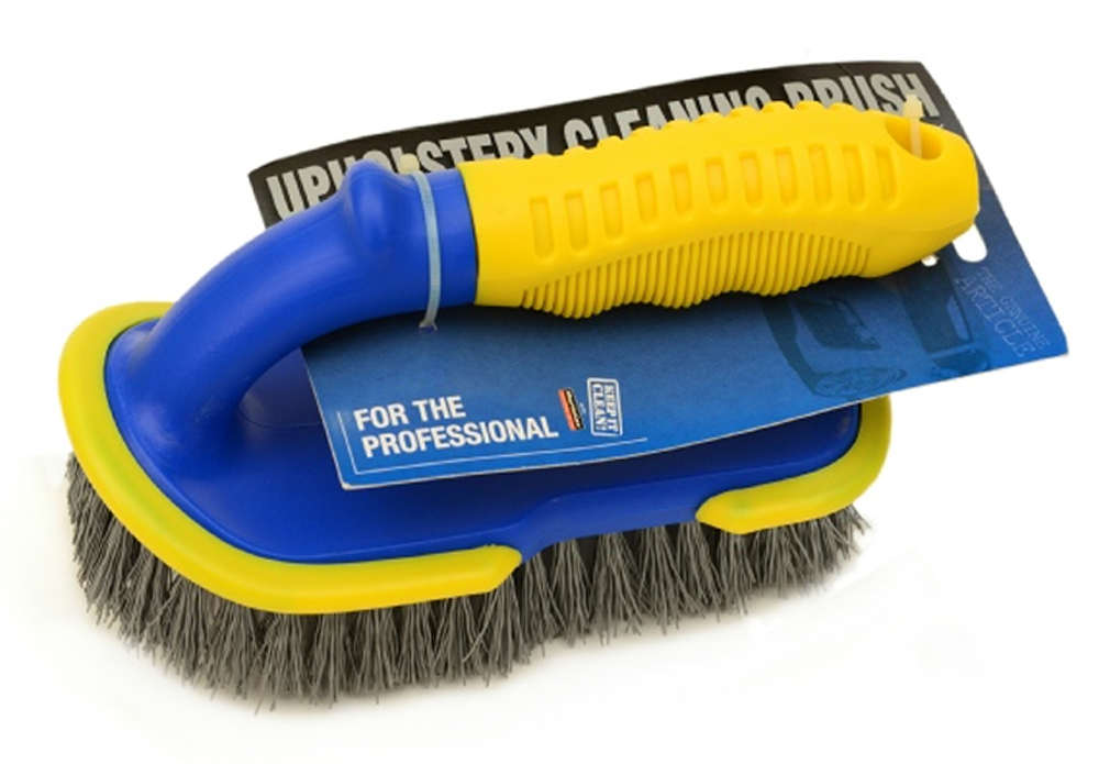 Professional Large Stiff Bristle Apholstery Brush MOGG31, Works well with any upholstery cleaning chemical   Toolforce.ie