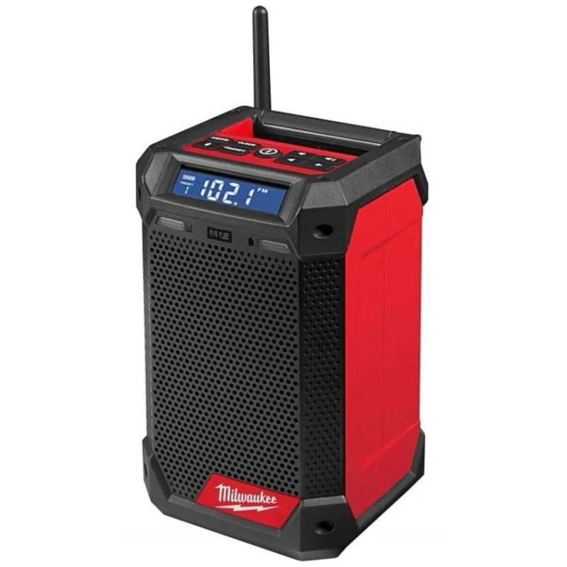 Milwaukee M12 DAB+ Radio M12CRADAB+-0 | Premium speaker provides high sound quality