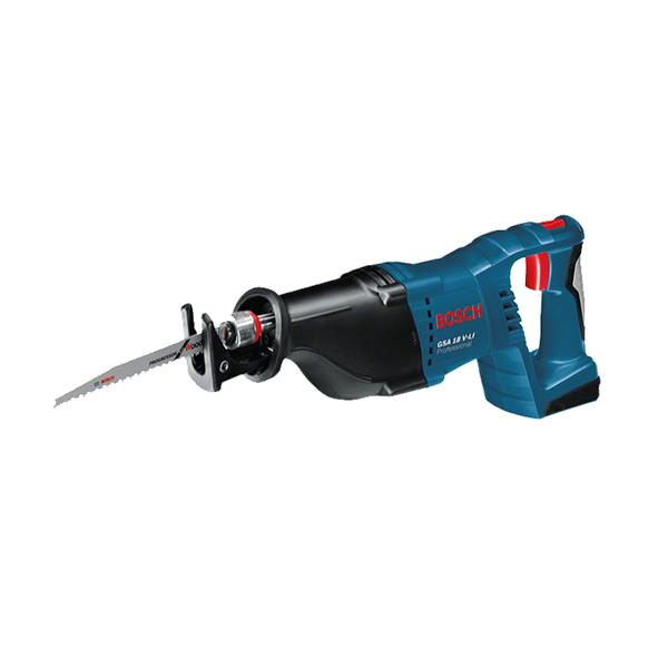 BOSCH 18V CORDLESS RECIPROCATING SAW BODY GSA18VLI-C | Strong motor enables fast progress when sawing. | toolforce.ie
