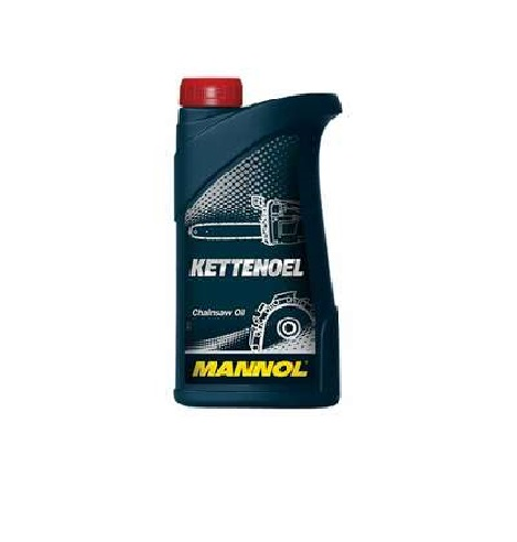 MANNOL KETTENOEL Bar & Chainsaw Oil 1L, Highly refined oil on a mineral base, ideal for lubrication of the cutting chain saws.