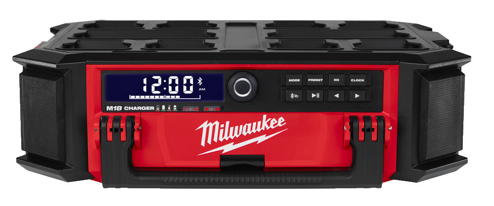 Milwaukee M18 Packout DAB+ Radio and Charger M18PRCDAB+0
