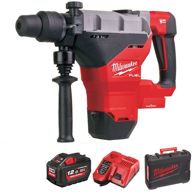 Milwaukee M18 Fuel Breaking Hammer Drill With One-Key M18FHM-121C