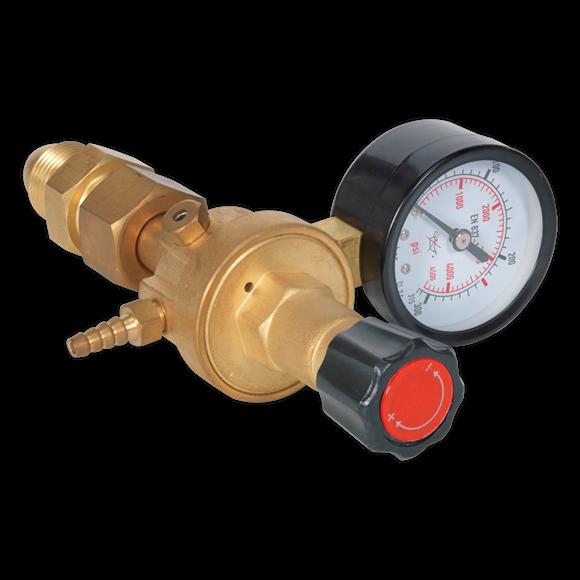 Sealey MIG Welder Gas Regulator 1 Gauge REG/MO   Maximum operating pressure of 4bar for all models.   toolforce.ie