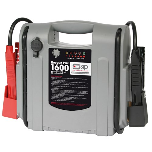 SIP 12V Booster Pack 1600amp 03936 | Easy-to-use user interface | 12v DC output socket | LED charge indicators | toolforce.ie