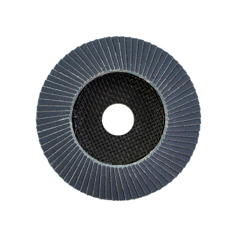 MilwaukeeZirconium 60Grit Flap Disc, Highly flexible which allows the disc to perfectly adjust to the working piece.