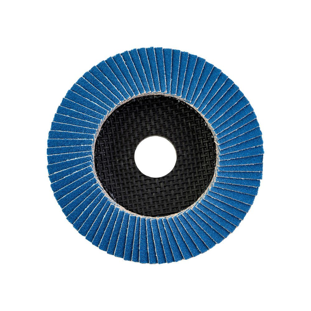 Milwaukee Zirconium 80Grit Flap Disc, Highly flexible which allows the disc to perfectly adjust to the working piece.