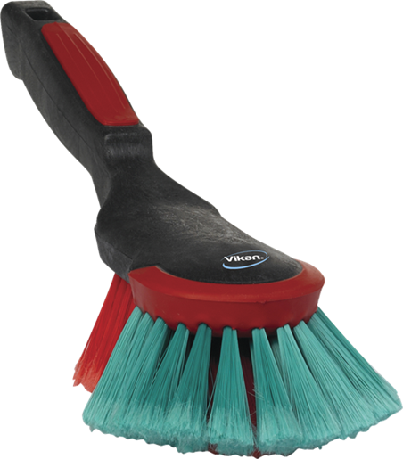 Vikan 320mm Soft Hand Brush, Dip and wash hand brush for vehicle cleaning.