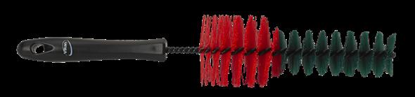 Vikan 325mm Wheel Cleaning Brush 525352, This Vikan wheel cleaning brush has medium stiffness, synthetic filaments.